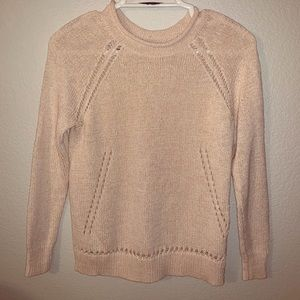J. Crew Cream Sweater, size XS